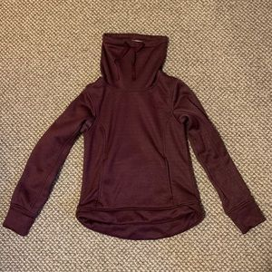 North Face high neck sweater